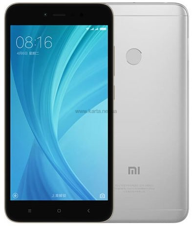 Смартфон Xiaomi Redmi Note 5A Prime 3/32 GB Dark Grey